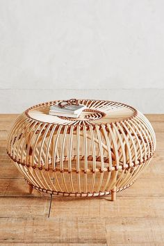 Rattan Coffee Table for Adding Texture to Your Home Susila Rattan Coffee Table Rattan Ottoman, Rattan Coffee Table, Rattan Side Table, Round Coffee Table, Chair And Ottoman, Wicker Swivel Chair, Coffee Chairs, Dining Chairs, Coffee Coffee