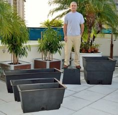 http://www.deepstreamdesigns.com/Planter-Liners/Garden-Planter-Liners.htm  Garden Planter Liners, Plastic Liners, Recycled Planter Liners