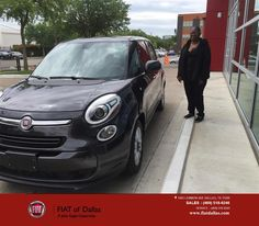 https://flic.kr/p/FYyxQo   Congratulations Loraine on your #FIAT #500L from Jessica Rubio at FIAT of Dallas!   deliverymaxx.com/DealerReviews.aspx?DealerCode=F741