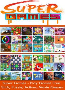 Super Games - Play Games Free | Stick, Puzzle, Actions, Movie Games