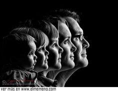Maravillosa foto-retrato de una familia