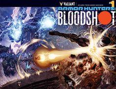 Armor Hunters #Bloodshot #1 #Comics https://www.facebook.com/DevilComics