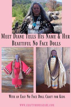 Meet Diane Tells His Name & Her Dolls