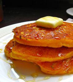 Warm Up with Vata-Reducing Sweet Potato Pancakes - Ayurveda Real Food Recipes, Vegetarian Recipes, Healthy Recipes, A Food, Good Food, Ayurvedic Recipes, Sweet Potato Pancakes, Sem Lactose, Food Inspiration