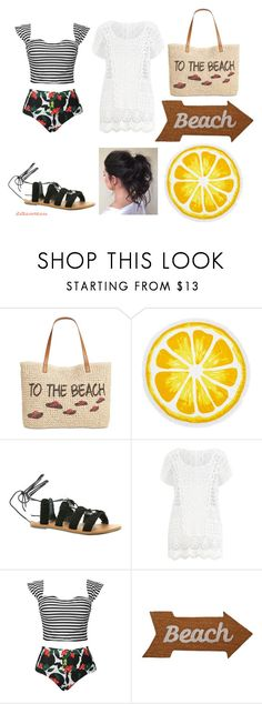 """""""Beach"""" by itstessamessa ❤ liked on Polyvore featuring Style & Co., Nordstrom Rack, Billabong, Ralph Lauren and Mud Pie"""