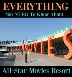 All Star Movies Resort at Walt Disney World is a value resort. It is themed with popular Disney movies. It is one of the cheapest resorts on Disney property.