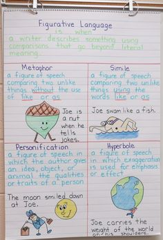 Figurative Language plus a freebie!
