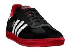 Adidas Samba Negro/Rojos