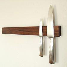 Messerleiste Nussbaum 50 cm, Magnetleiste, Messerblock