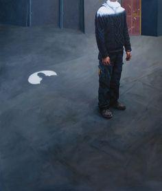 Diego Cirulli -Pit, oil on canvas, 105 x 86 cm, 2016