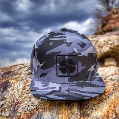 Would you rather blend in or stand out? The BC Camo Flat 2 from Black Clover
