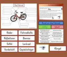 arbeitsblatt fahrrad beschriften schule tricycle. Black Bedroom Furniture Sets. Home Design Ideas