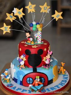 Mickey+Mouse+Clubhouse+Birthday+Cakes | Mickey Mouse Clubhouse cake | Sweet Lyf