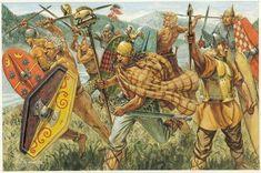 Guerrilla de los Galos en los Alpes