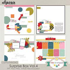 Template: Surprise Box Vol.4 By: Little Bit Shoppe