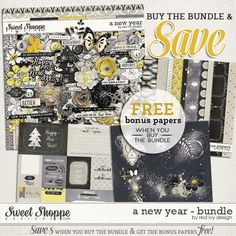 A New Year - Bundle - by Red Ivy Design is not at Sweet Shoppe Designs at 28% off. Also available in separate packs at 20% off each