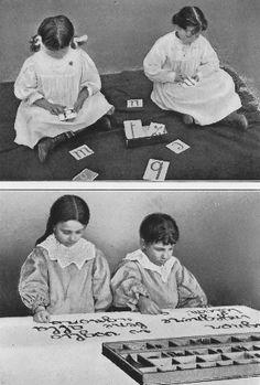 The Montessori Method.