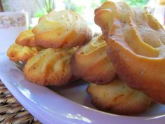 Pastas de naranja y cardamomo - Orange and cardamom cookies