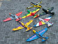 Homemade Mig7 r/c slope glider Made from corflute sheet Description: Waiting for the wind!