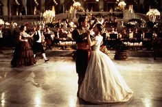 It was her last dance of the night and who would guess that Henry would ask her to waltz. Eliza was speechless.