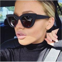Brand Name: CCspace Style: Cat Eye Lenses Optical Attribute: UV400,Gradient,Photochromic Frame Material: Plastic Gender: Women Department Name: Adult Lenses Material: Polycarbonate Lens Height: 40mm Lens Width: 48mm Model Number: 45204 Eyewear Type: Sunglasses Item Type: Eyewear