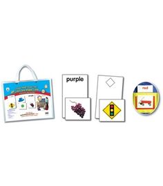 Double SMART™ Pocket Chart Colors and Shapes Cards Pocket Chart Accessory - Carson Dellosa Publishing Education Supplies