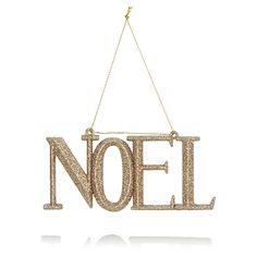 Noel tree decoration £2