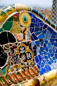 Parque Guell, Barcelona, Spain-Antoni Gaudi-such an inspiration
