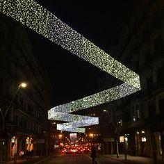 #barcelona Christmas lights