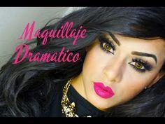 Maquillaje Dramatico Sofisticado - YouTube