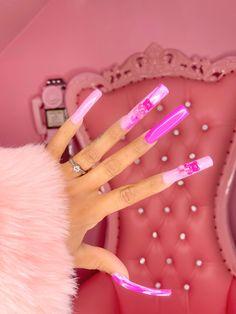 Purple Acrylic Nails, Long Square Acrylic Nails, Best Acrylic Nails, Glue On Nails, Gel Nails, Henna Nails, Coffin Nails, Cute Acrylic Nail Designs, Exotic Nail Designs