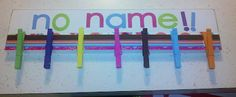 Clutter-Free Classroom: NO NAME PAPER HOLDER {Coffee & a Clever Idea} To reduce the number of nameless papers, ask students to point to their name and clap twice. This gets everyone's attention and reminds off task students to write their name.