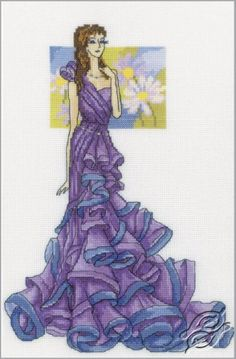 Queen of the Ball - Cross Stitch Kits by RTO - M308