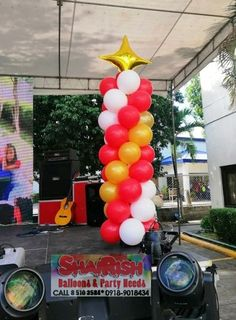 Ryonan Electric Phils. Corp. Royal  Christmas Ball 2019 at Laguna Technopark, Binan Laguna Services availed: *Grass wall rental with LED letter standee *Photo booth rental *Face painting *Balloon Decors -Pillars -Entrance Arch -Walkway Balloons -Stage balloon decors Royal Christmas, Christmas Balls, Letter Standee, Balloon Pillars, Balloon Painting, Balloon Decorations, Walkway, Photo Booth, Entrance