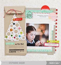 Lettre au Père Noël - Letter to Santa by cleosmum at Studio Calico