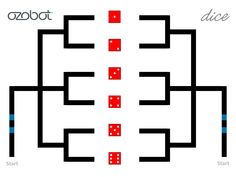 Ozobot Dice - Credit: Richard Born