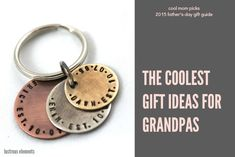 The coolest gifts for Grandpas: Father's Day Gift Guide 2015 Father Presents, Cool Presents, Gifts For Father, Cool Gifts, Diy Father's Day Gifts From Daughter, Diy Father's Day Gifts From Baby, Watch Engraving, Cool Mom Picks, Mom Cards