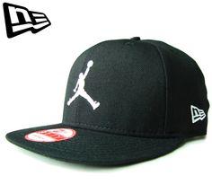 ニューエラ  NEW ERA 9FIFTY JUMPMAN ブラックXホワイト スナップバック CAP  newera   帽子  ジョーダン  snapback  snap back  ジャンプ ... 34cbd387165