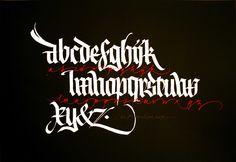 calligraphy / Luca Barcellona