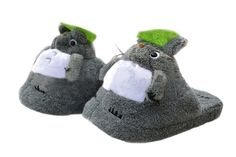 Totoro Plüsch Hausschuhe