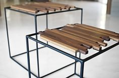 AIR  Coffee Table/ Side Tables by micklish on Etsy, $550.00