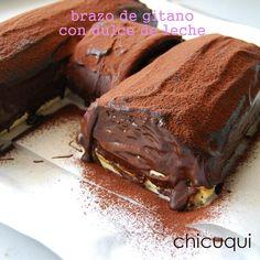 Receta de brazo de gitano con dulce de leche, irresistible! | Cocinar en casa es facilisimo.com