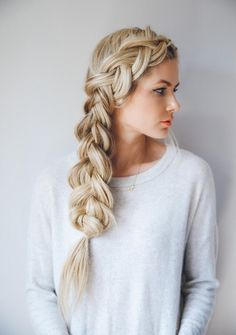 Tendance : Coiffure tresse : What I Tell my Hairdresser to get my Blonde Color Barefoot Blonde by Amber Fillerup Clark Beautiful Braids, Gorgeous Hair, Pretty Hairstyles, Braided Hairstyles, Quick Hairstyles, French Hairstyles, Wedding Hairstyles, Hairstyle Ideas, Business Hairstyles
