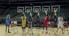 """This year, the NBA has taken its holiday spirit to the next level with its latest ad, a performance of """"Jingle Bells."""""""