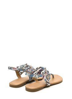 Box Of Dreams Embellished Sandals GoJane.com
