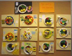 Lapset ovat itse tehneet ruoka-annokset lautasmallin mukaan. Master Chef Junior