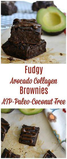 Fudgy Avocado Collagen Brownies (AIP/Paleo/Coconut Free)   Lichen Paleo, Loving AIP