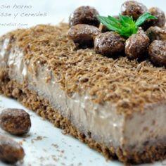 Vista previa del artículo Tarta sin horno de petit-suisse y cereales