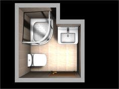 planos de baños pequeños - Buscar con Google