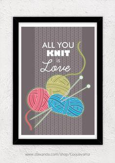Trendy Knitting Quotes Sayings Hands Ideas Knitting Quotes, Knitting Humor, Crochet Humor, Knit Or Crochet, Loom Knitting, Hand Knitting, Knitting Patterns, Crochet Mandala, Crochet Afghans